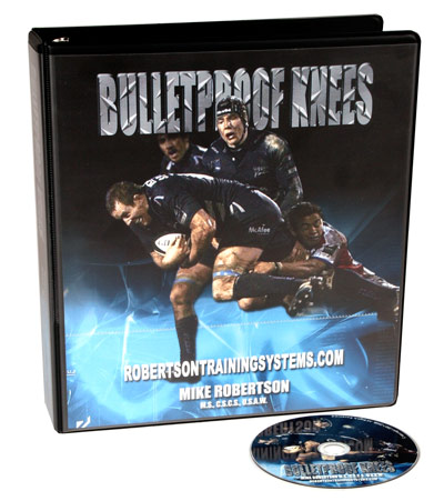 Your knees and exercise: bulletproof knees! (applied sports.