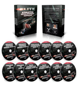 The Elite Athletic Development Seminar DVD's