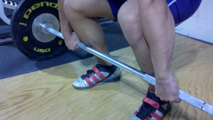overhand grip deadlift