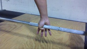 hook grip deadlift