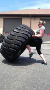 450lbs Tire Flip