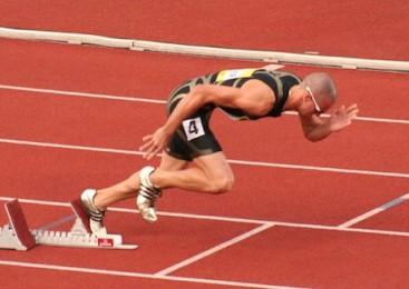 sprinting