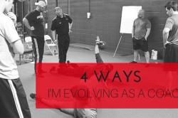 Evolving as a Coach