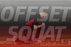 offset squat