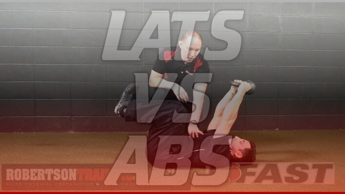 Lats vs. Abs