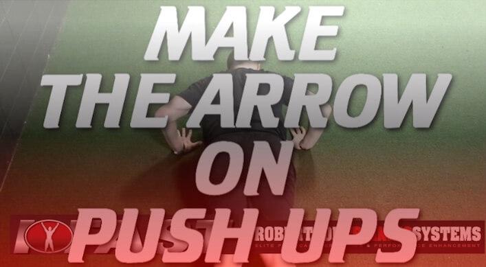 make-the-arrow-on-pushups