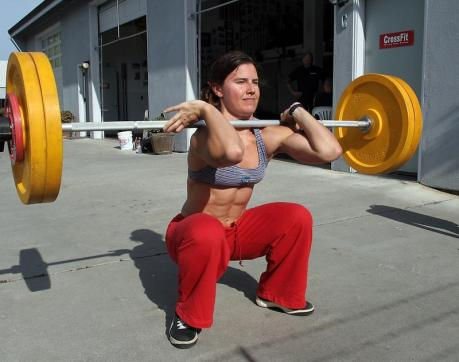 Front Squatting for Fat Loss