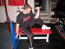 External Rotation on Knee
